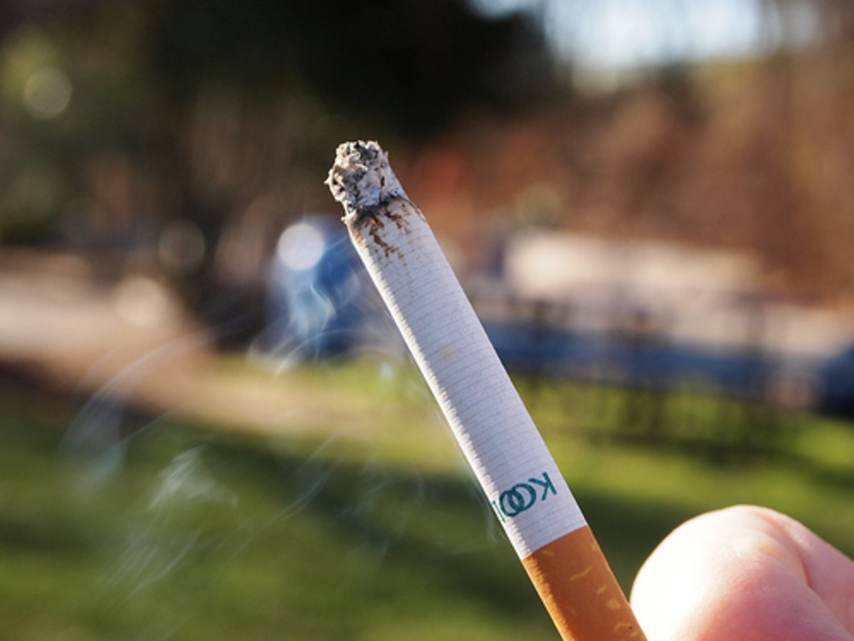 Smoking can increase your risk of gum recession