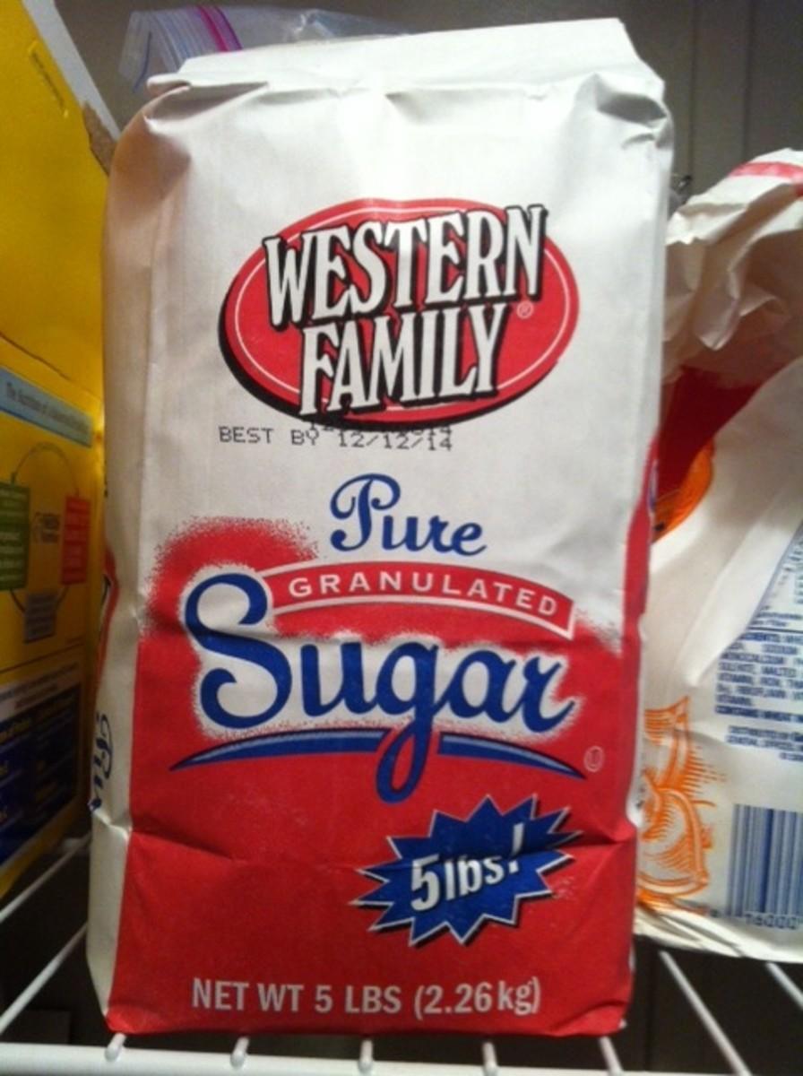 Decrease Sugar.