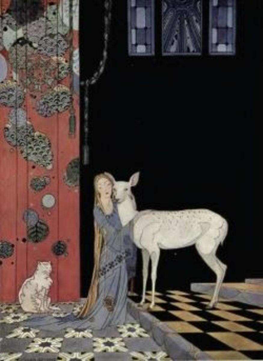 Blondine and Bonne-Biche from Old French Fairy Tales