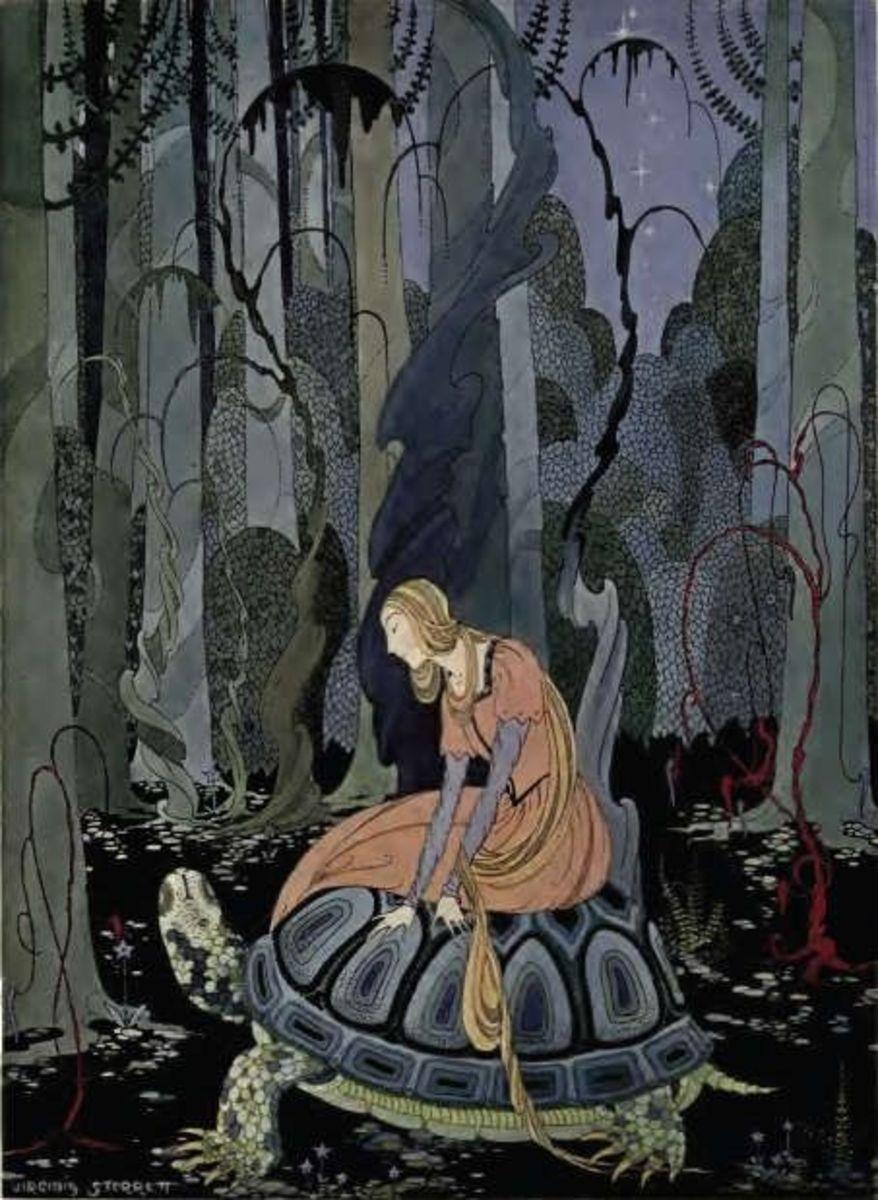 Virginia Sterrett: Through the Forest