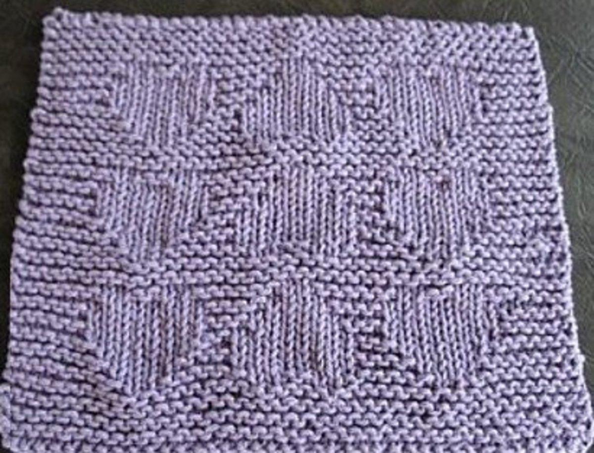 knitting-dishcloths
