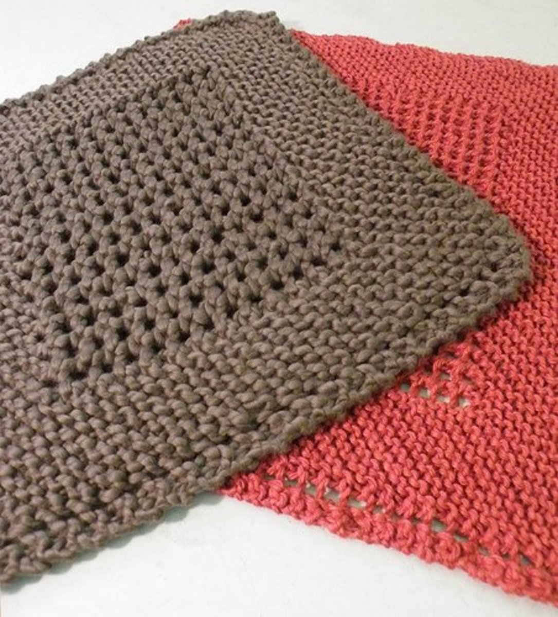 Knit A Dishcloth: Free Patterns | HubPages