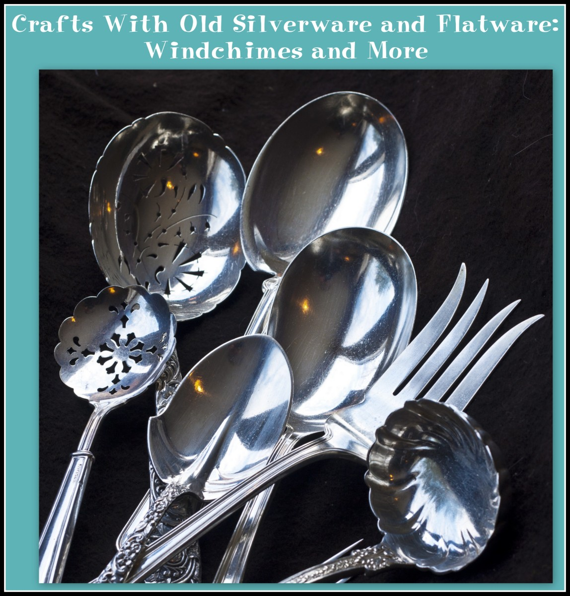 Crafts With Old Silverware and Flatware: Windchimes and More