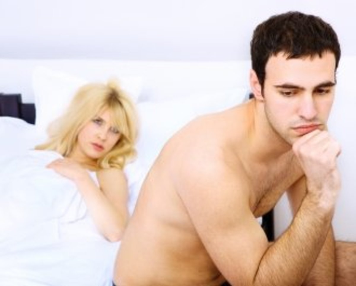 Refuse physical intimacy if he refuses to kick his habit.