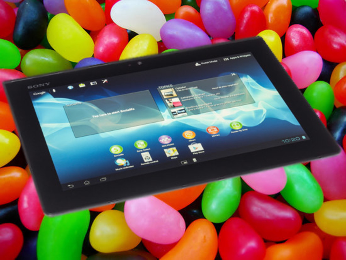 How to Update Sony Tablet S,P and Xperia Tab with Android 4.1 Jelly Bean