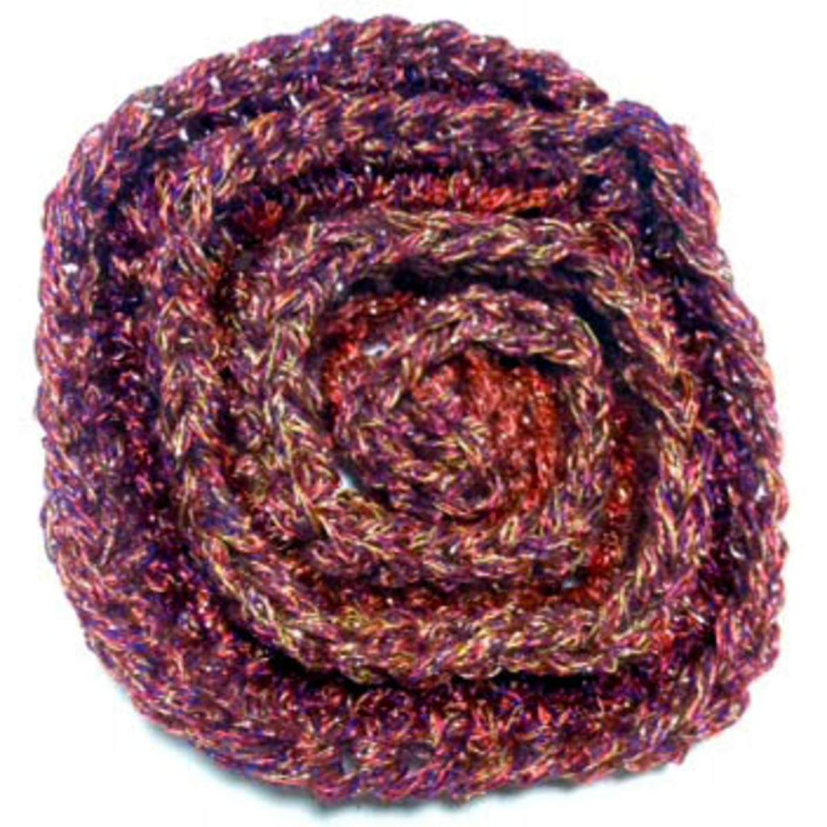 Free Crochet Pattern Rose Field : Crochet Pattern: Gradient of Spirals Flower Blanket hubpages