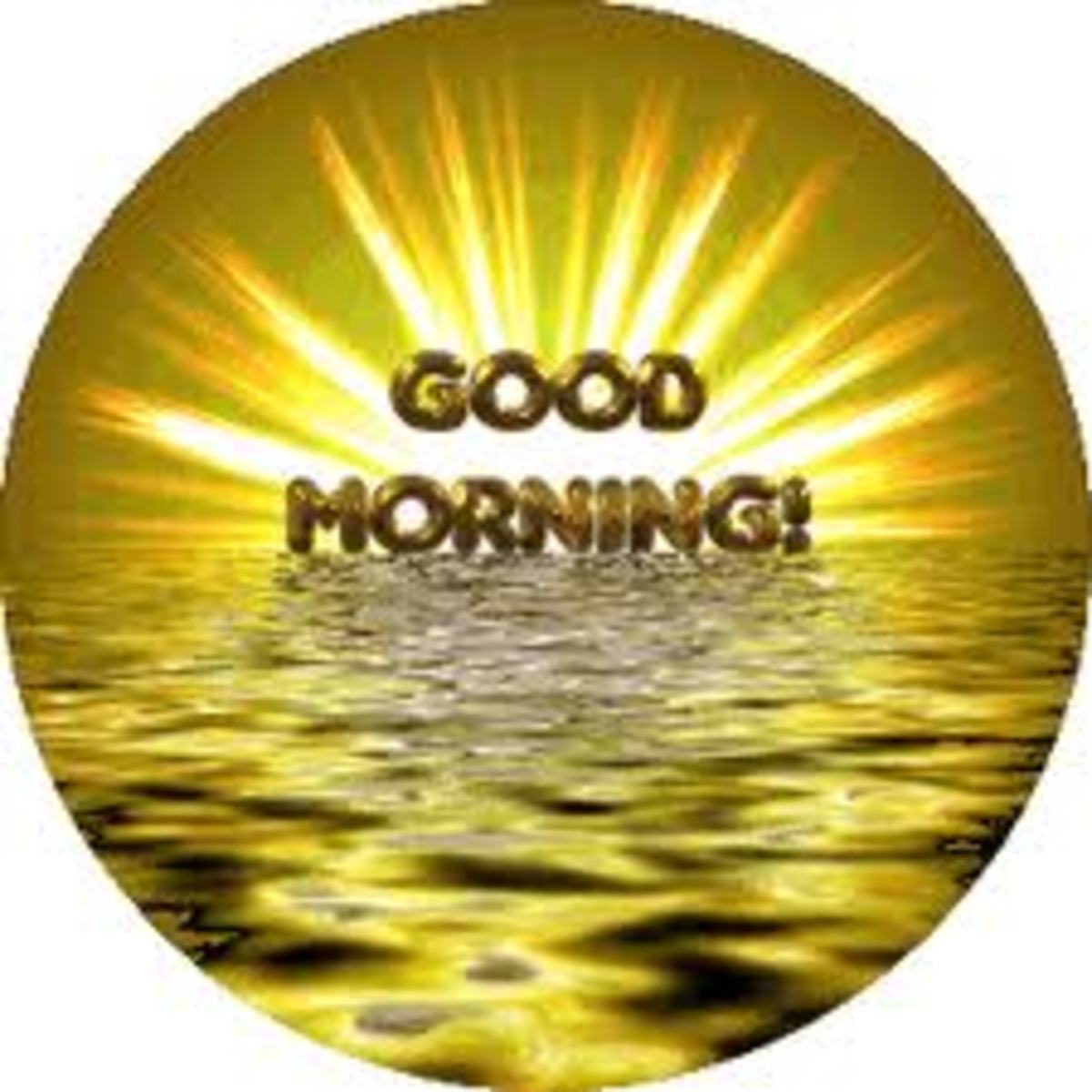 Good Morning Person