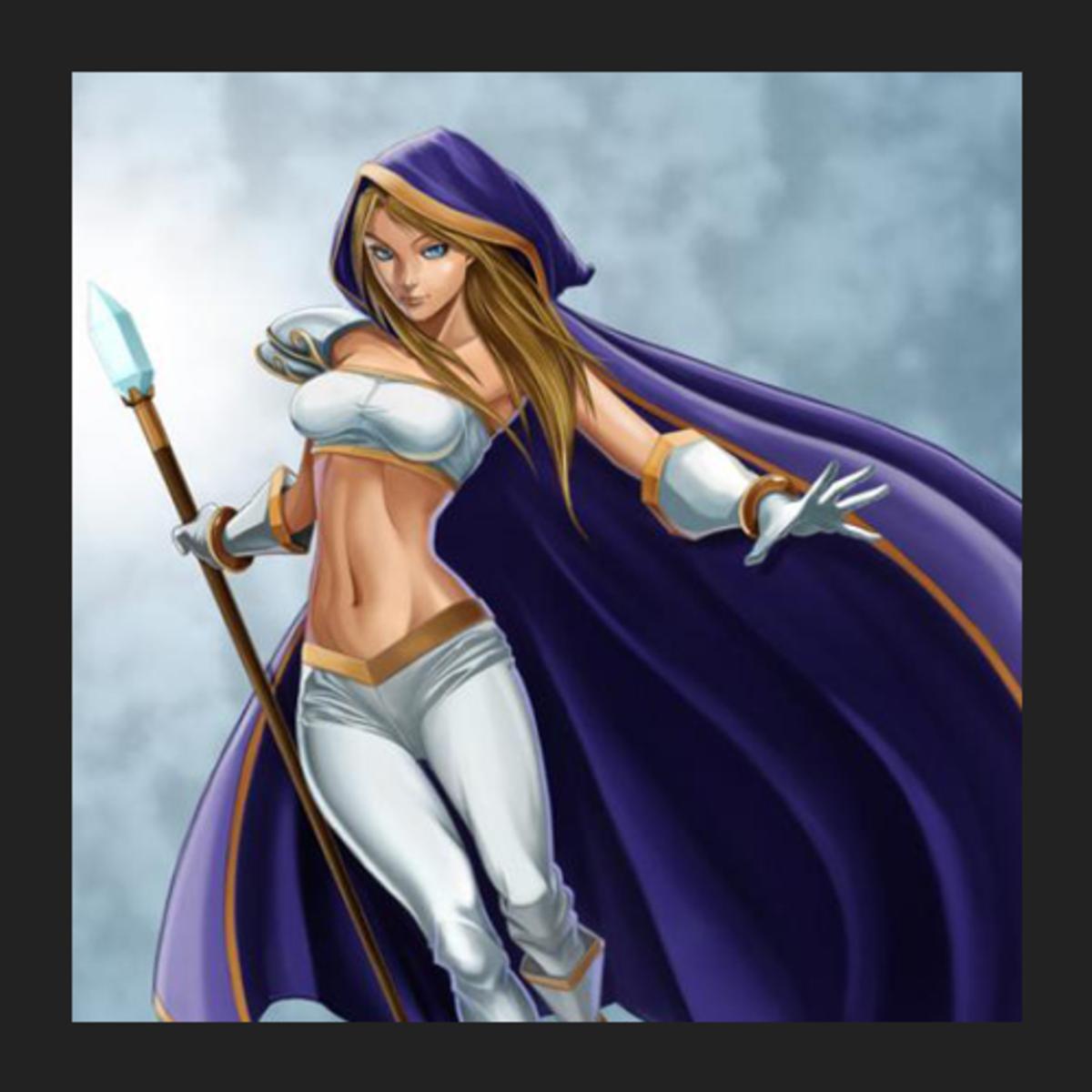Rylai the Crystal Maiden fan art