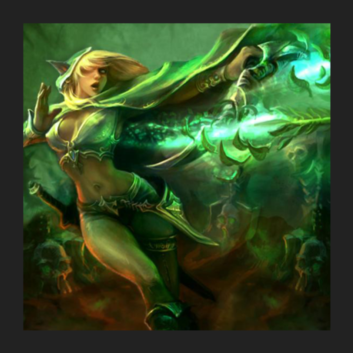 Alleria the Windrunner fan art