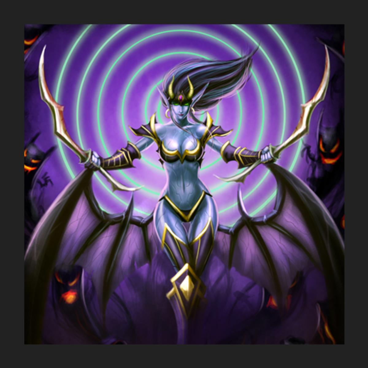 Akasha the Queen of Pain fan art