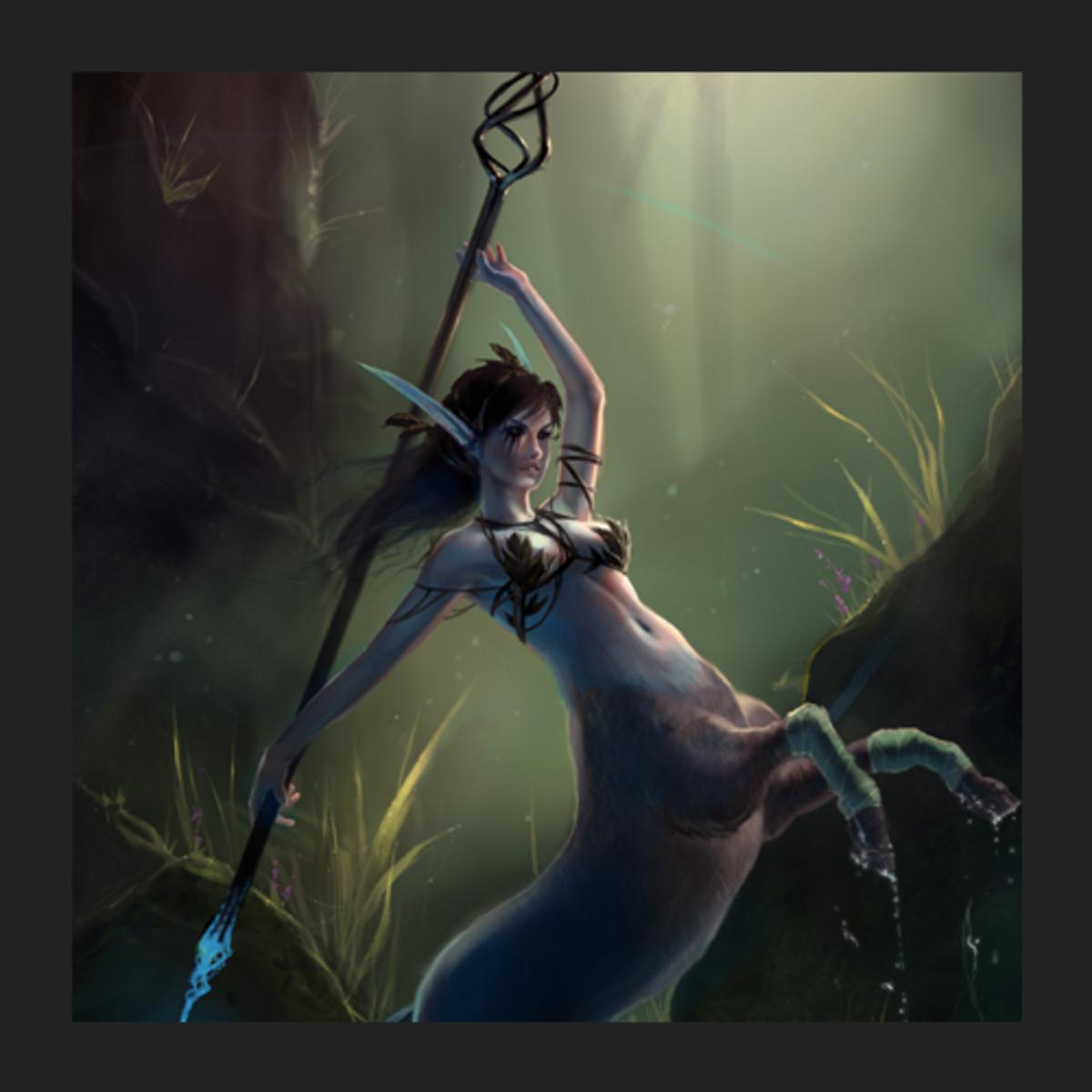 Aiushtha the Enchantress fan art