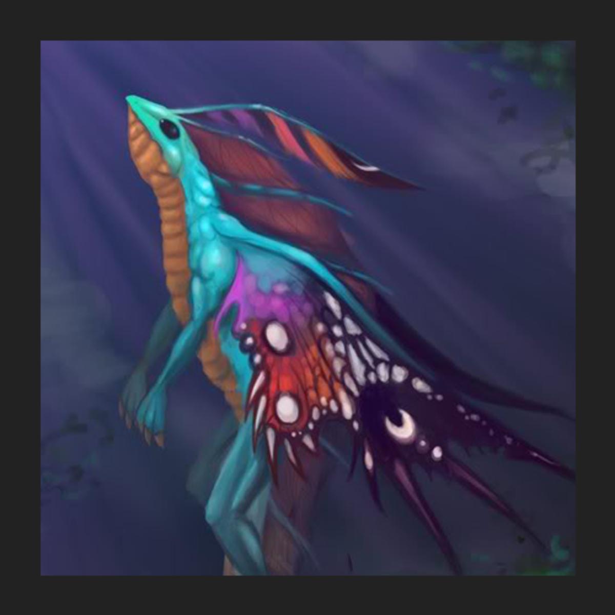 Puck the Faerie Dragon fan art