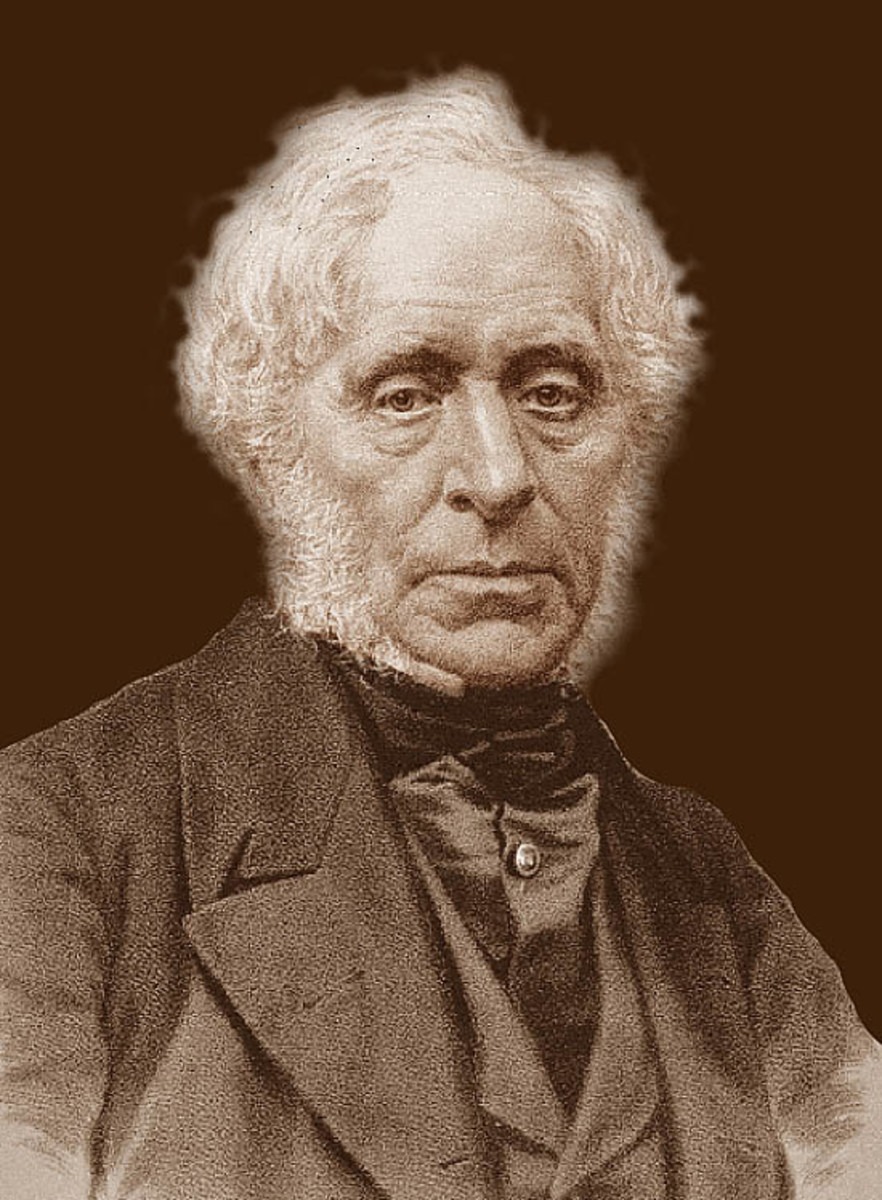Sir David Brewster (1781 - 1868) - Inventor of the Kaleidoscope