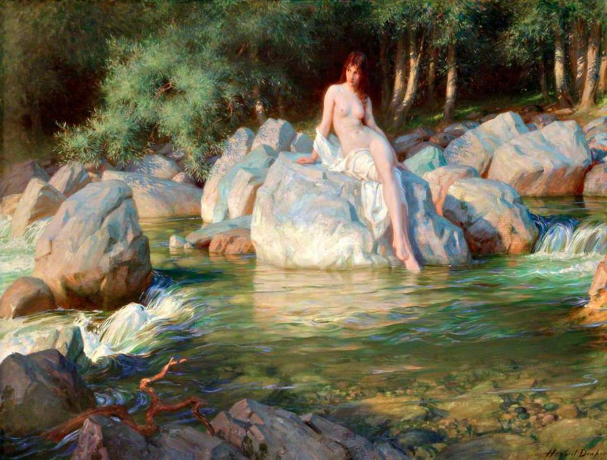 The Kelpie by Henry James Draper (1864 -1920)