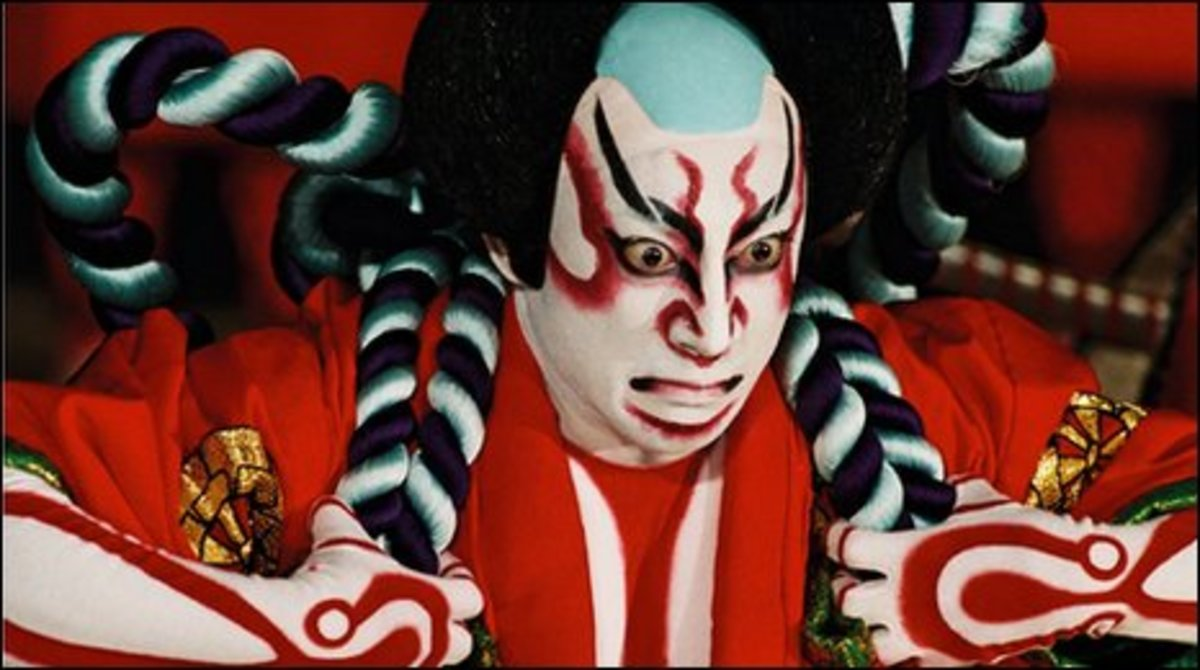 A Kabuki actor