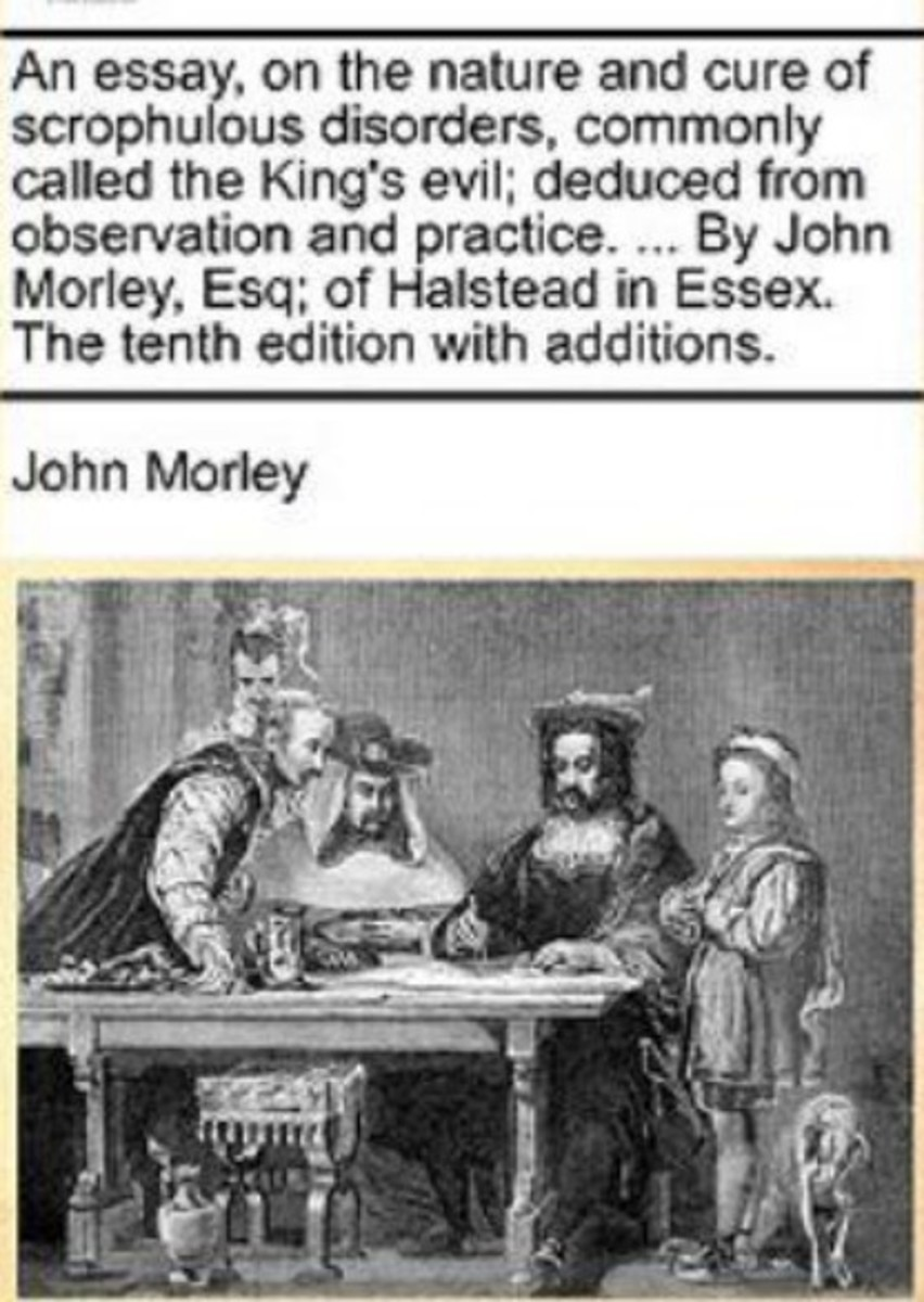 John Morley's famous treatise on King's Evil