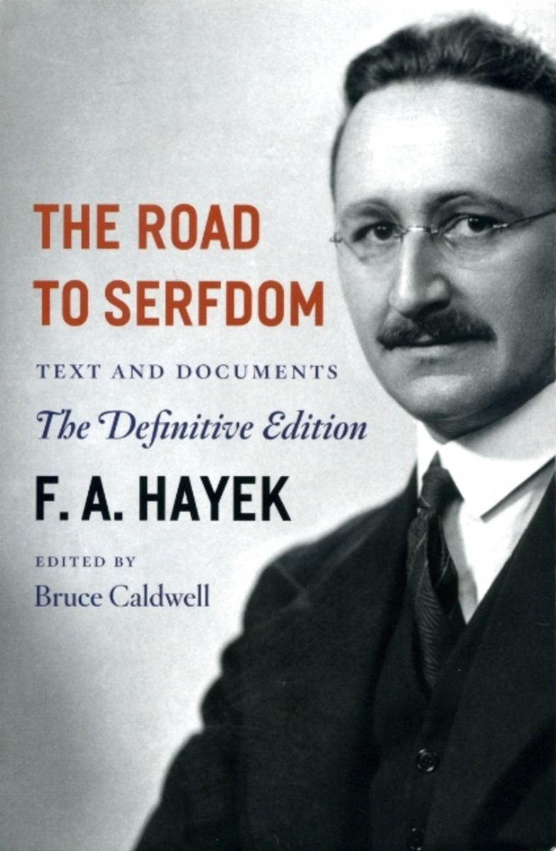 Book by F.A Hayek, the title says it all.  His economic  theories have been used to push working people into serfdom.