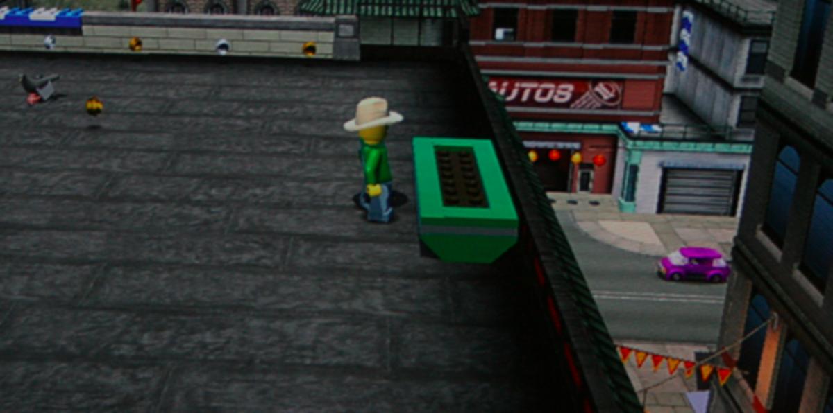 LEGO City Undercover walkthrough: Flower Box Locations