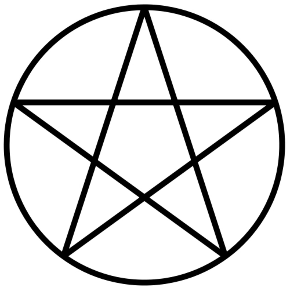 The pentacle can be used to represent the four elements of earth, air, fire and water. The fifth point signifies the element of spirit.