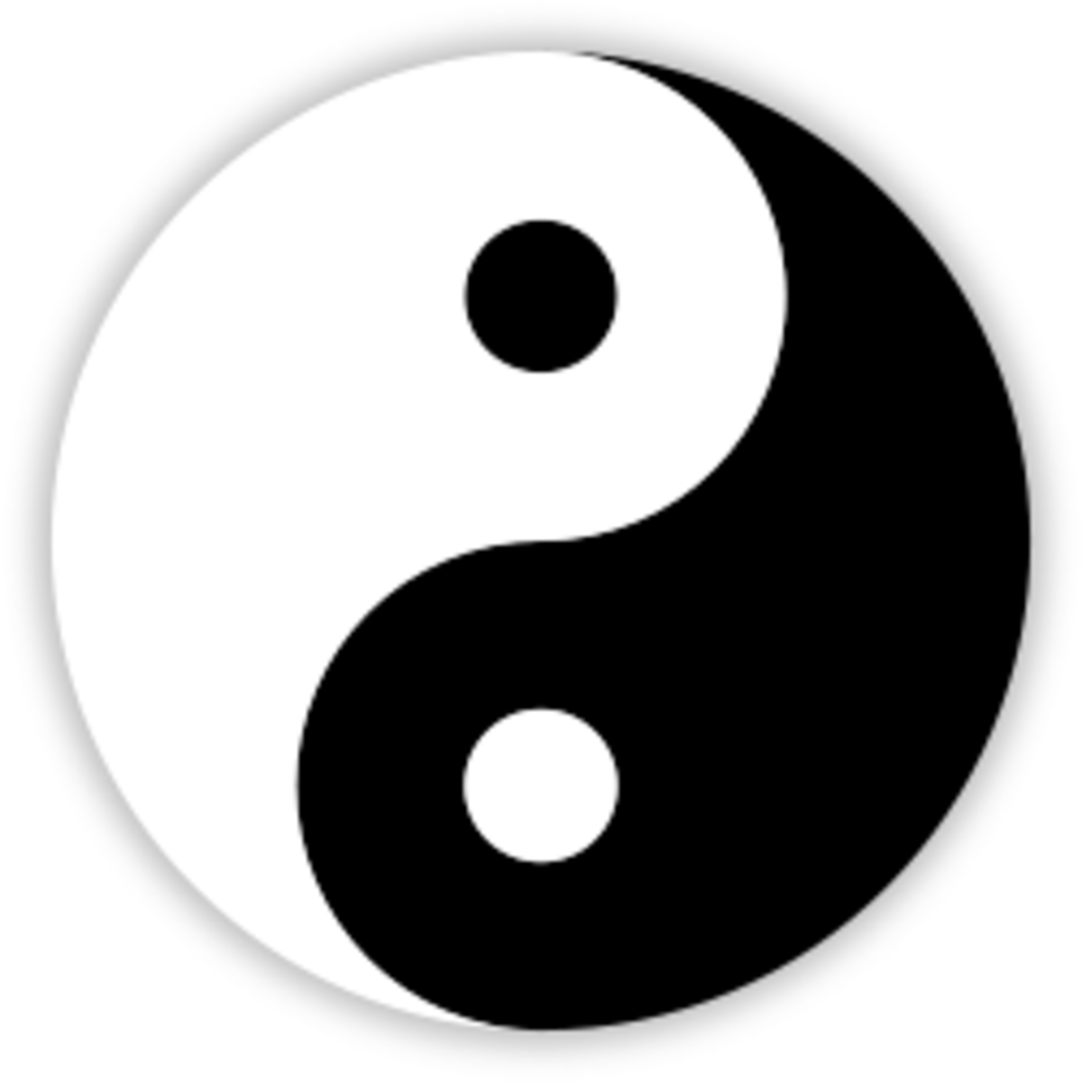 Yin and Yang symbolises opposing forces and energies in nature.