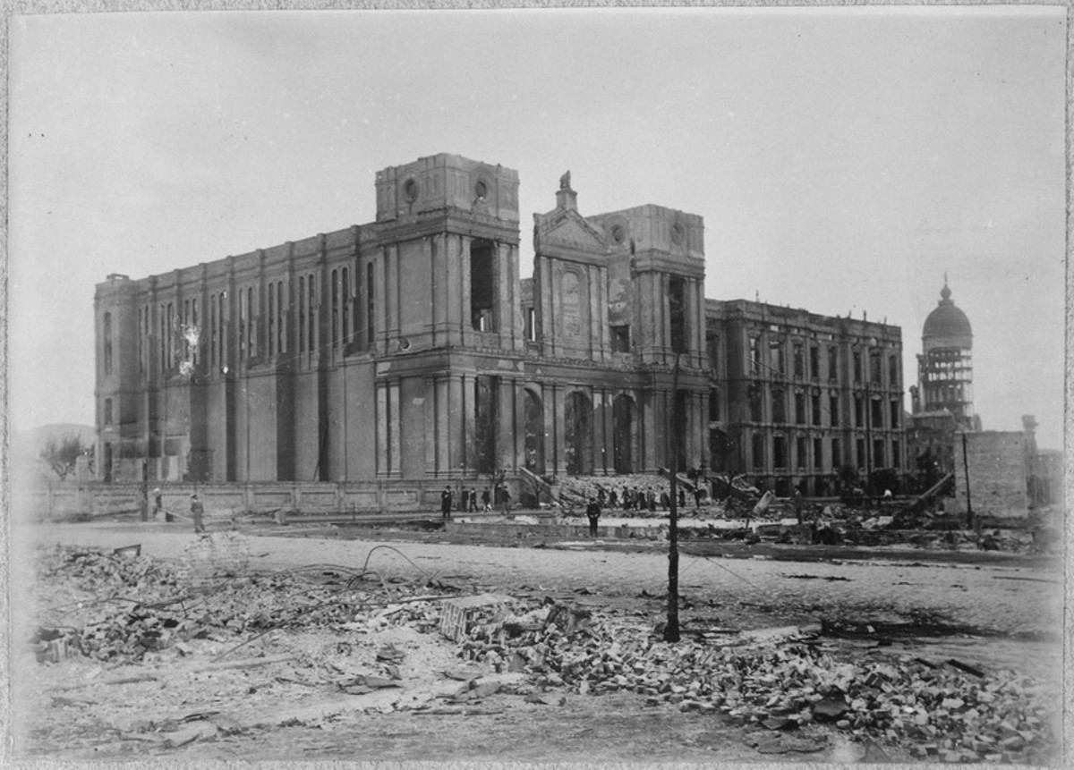 San Francisco Earthquake of 1906, Saint Ignatius Church