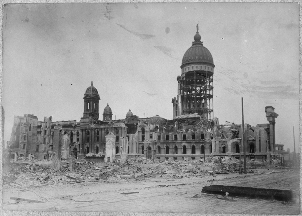 San Francisco Earthquake of 1906, City Hall