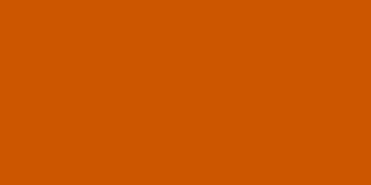BURNT ORANGE 80% (R) : 33% (G) : 0% (B)