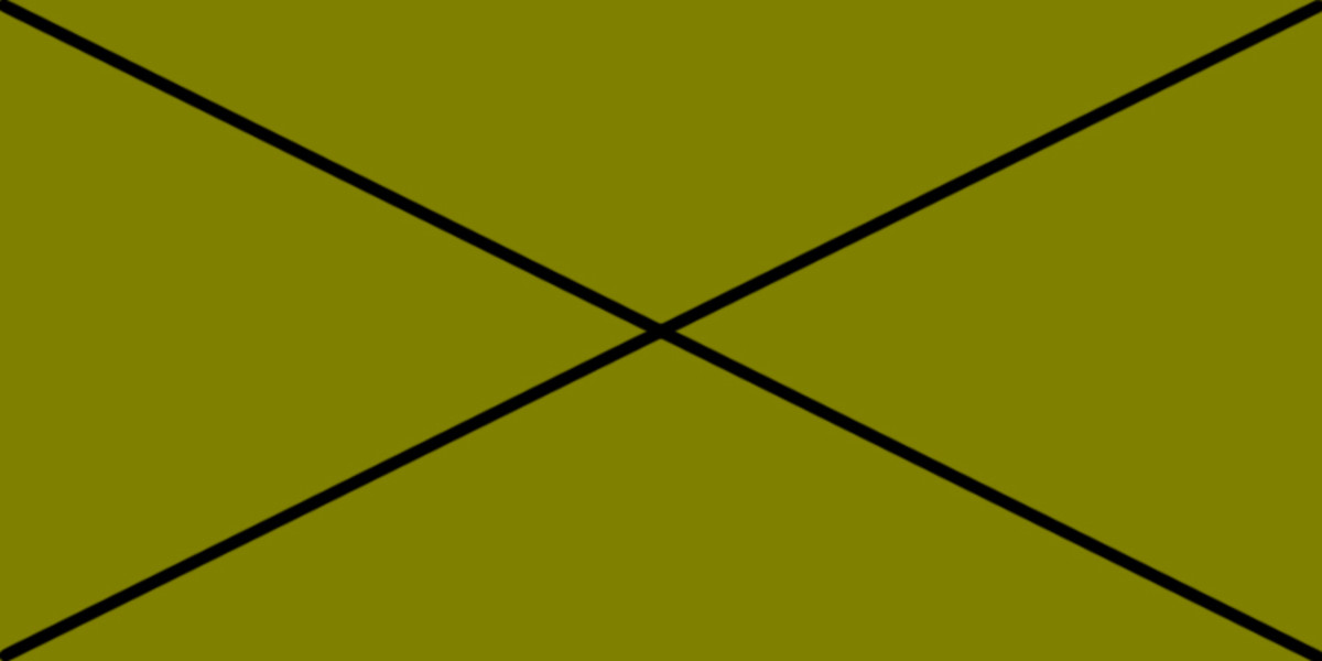 OLIVE GREEN 50% (R) : 50% (G) : 0% (B)  Although olive comprises equal amounts of red and green, it cannot be considered as Yellow, and that's why I've crossed it through. It is included only to show the effect of reducing light intensity