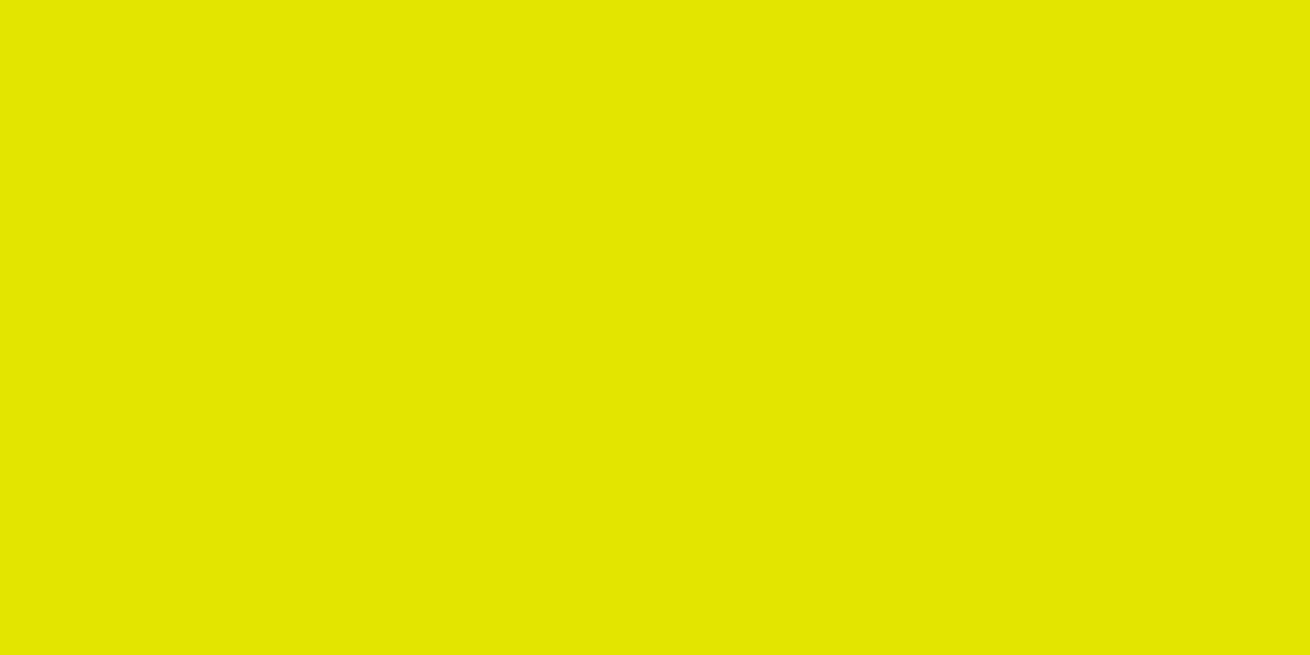 PURE YELLOW 90% (R) : 90% (G) : 0% (B)