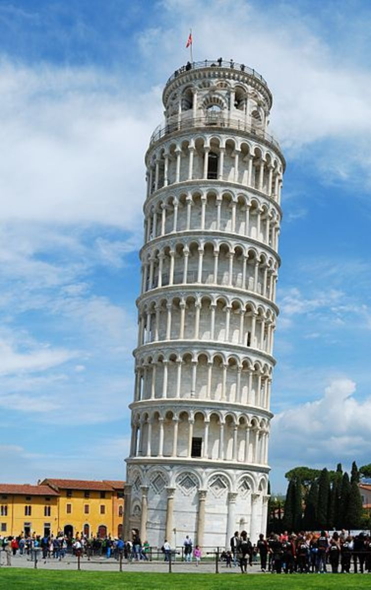 15 Interesting facts about the Leaning Tower of Pisa