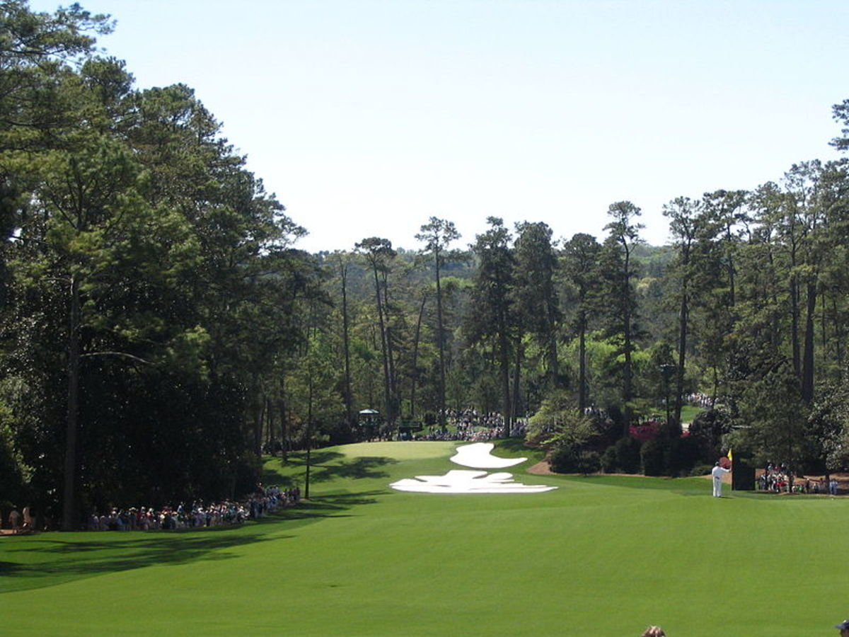 10th hole at the Masters