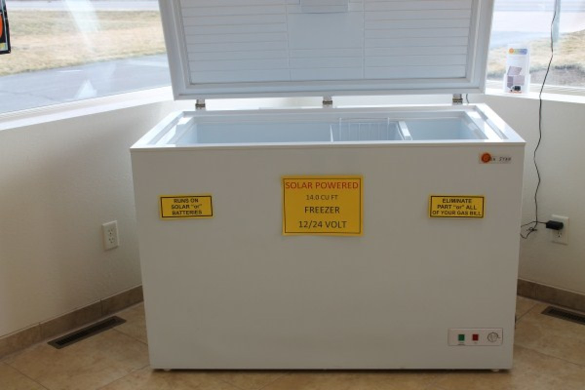Battery Operated DC Freezers