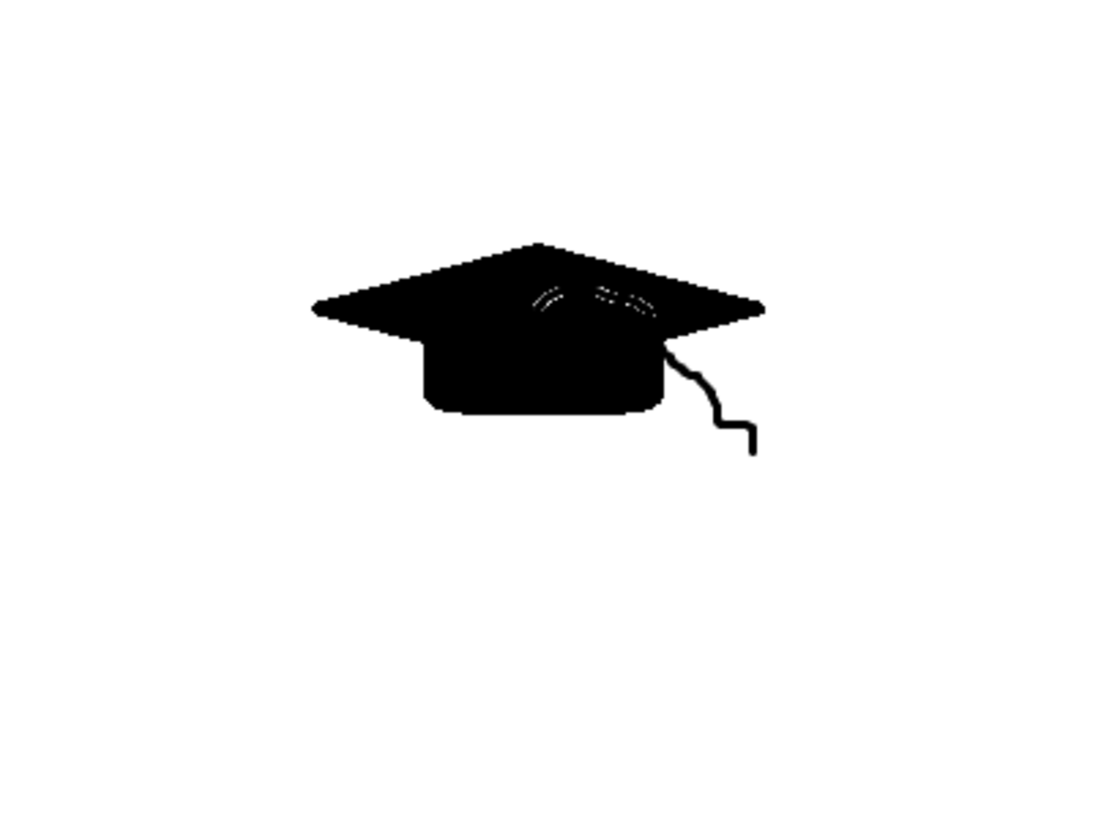Wearing the mortarboard can be very satisfying after years of hard work.