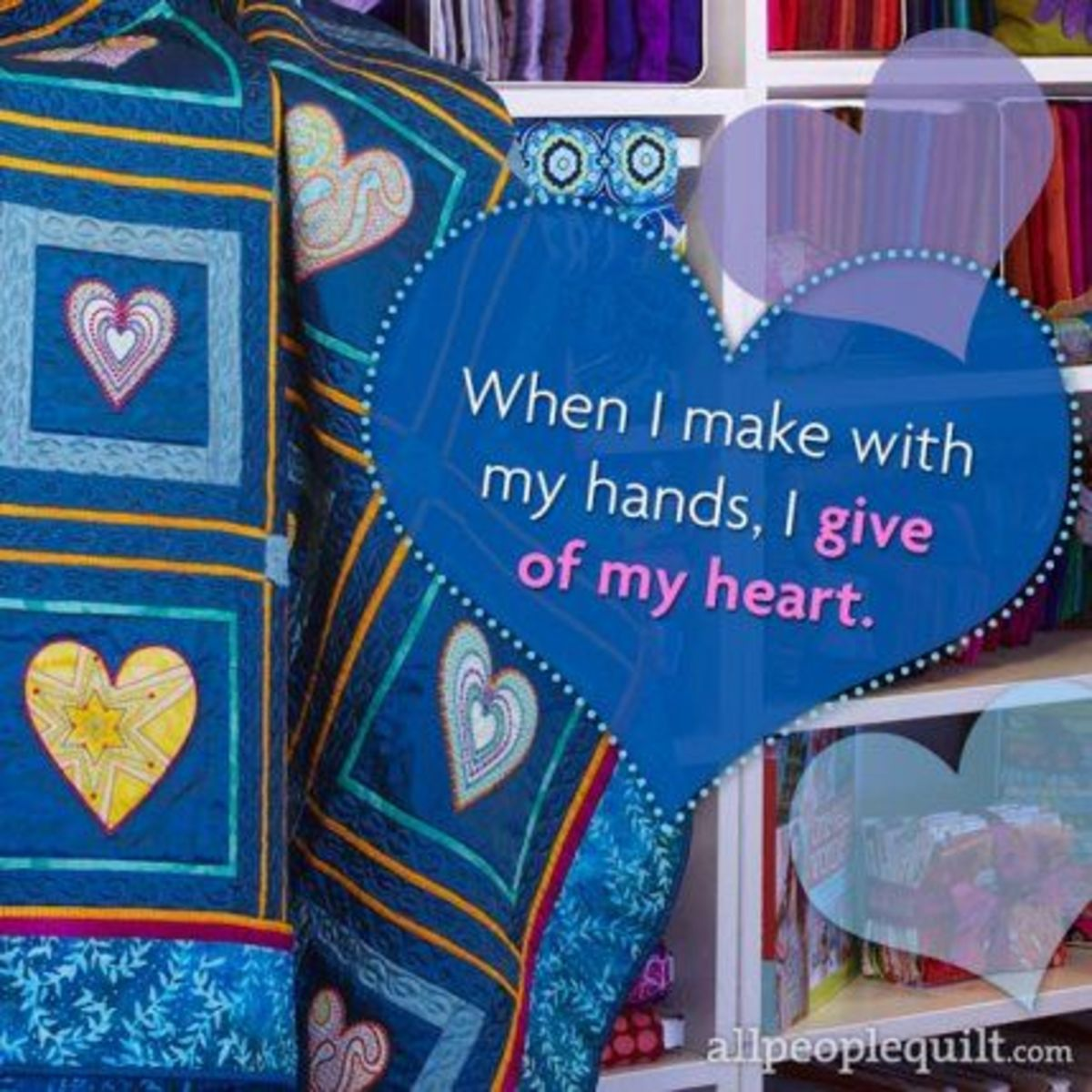 Handmade is personal.