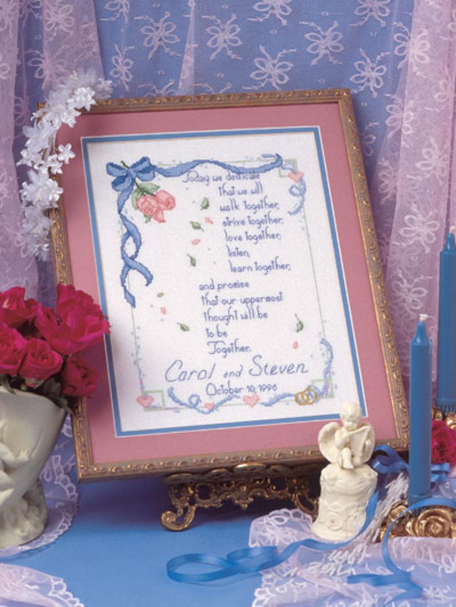 Free Cross Stitch Wedding Sampler Patterns