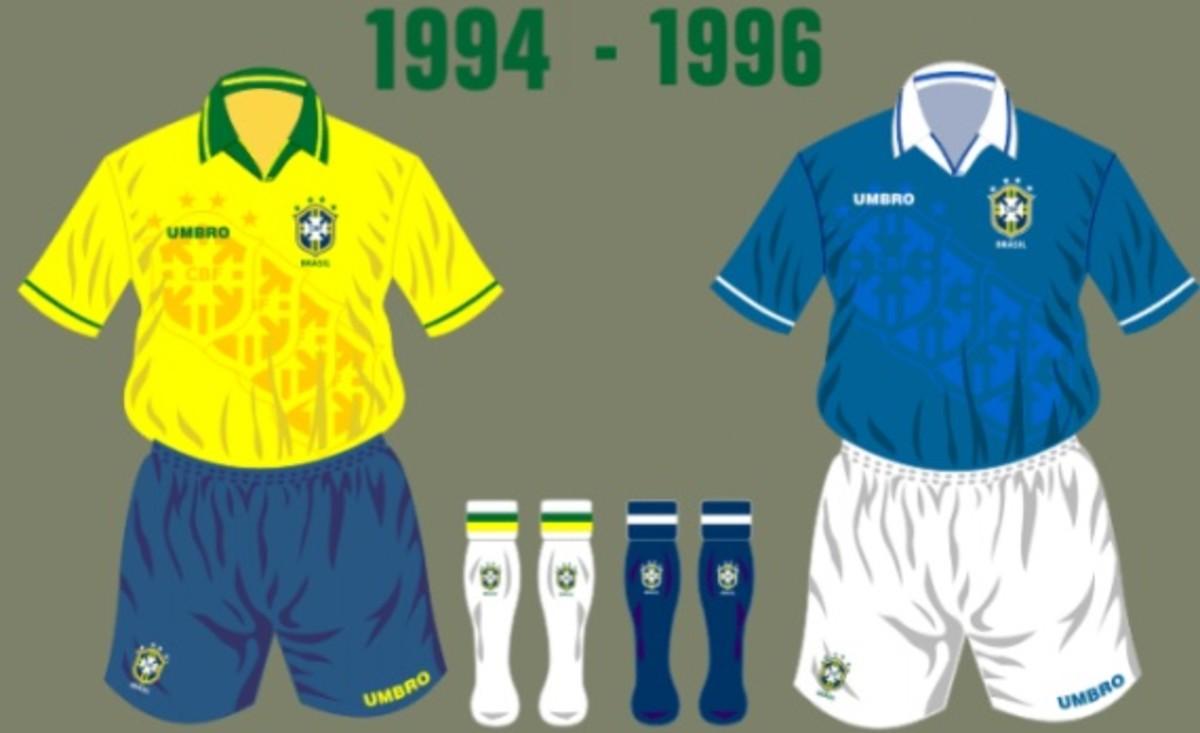 Brazil 1994 Football Shirt