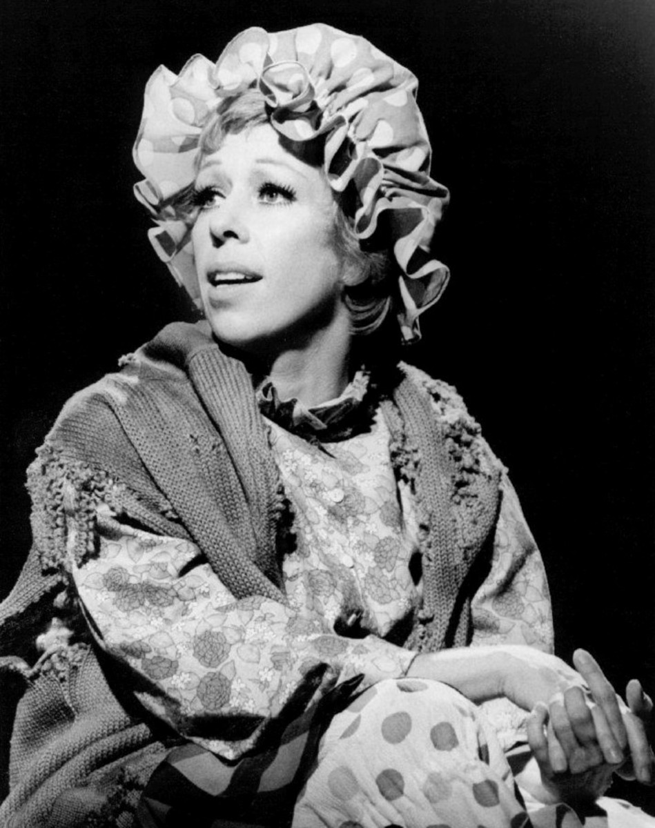 "Carol Burnett as ""The Charwoman"""