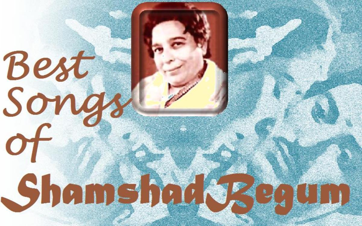 Shamshad Begum - The First Female Singing Star of Bollywood