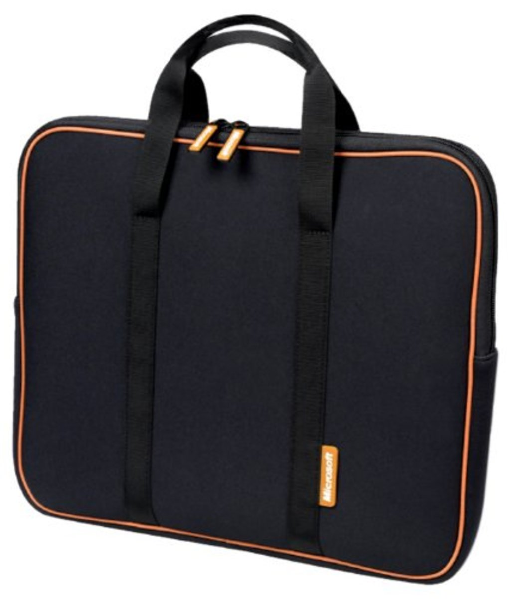 Microsoft 17.3-Inch Neoprene Laptop Sleeve