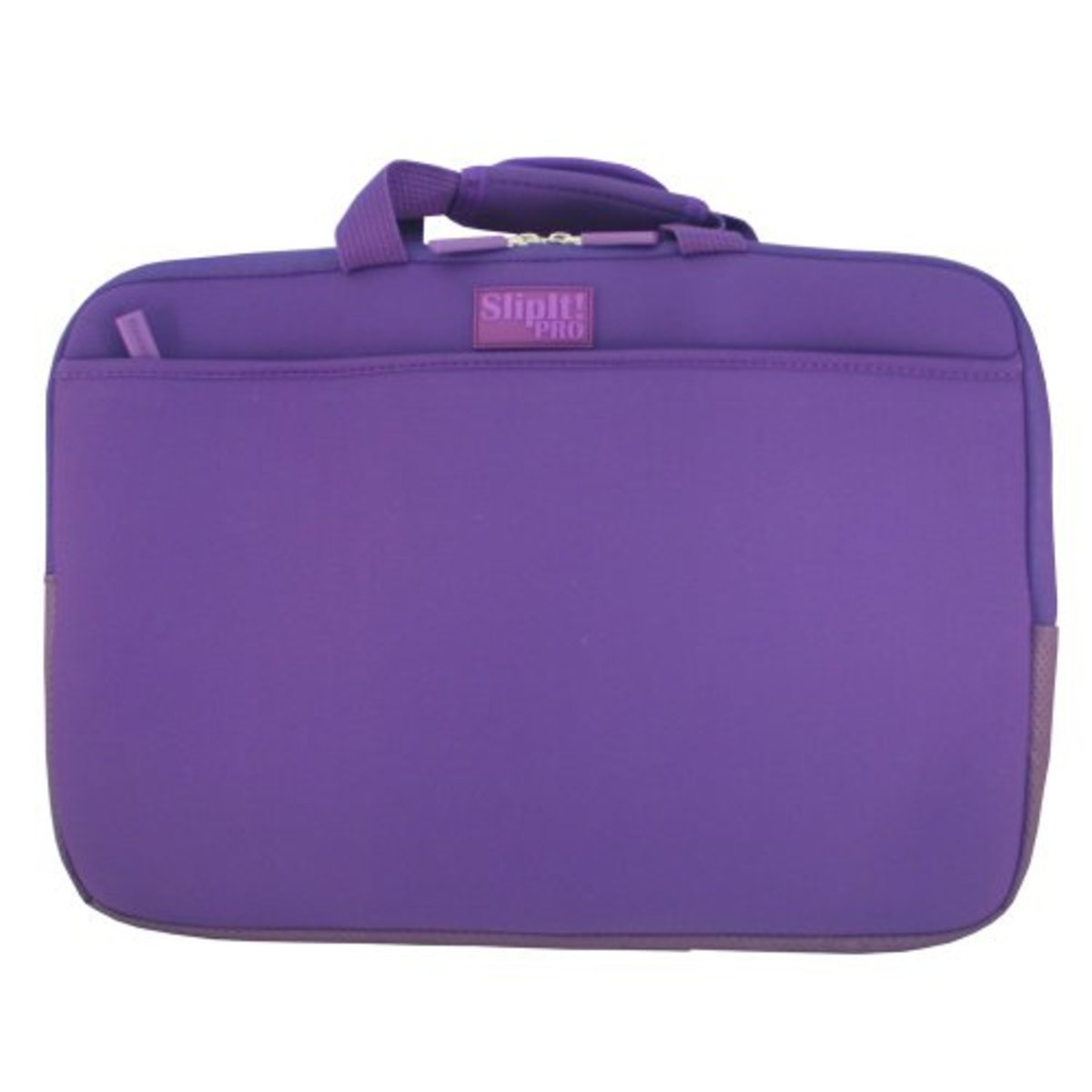 PC Treasures SlipIt! Pro 17-Inch Neoprene Case with Zippered Pockets - Purple