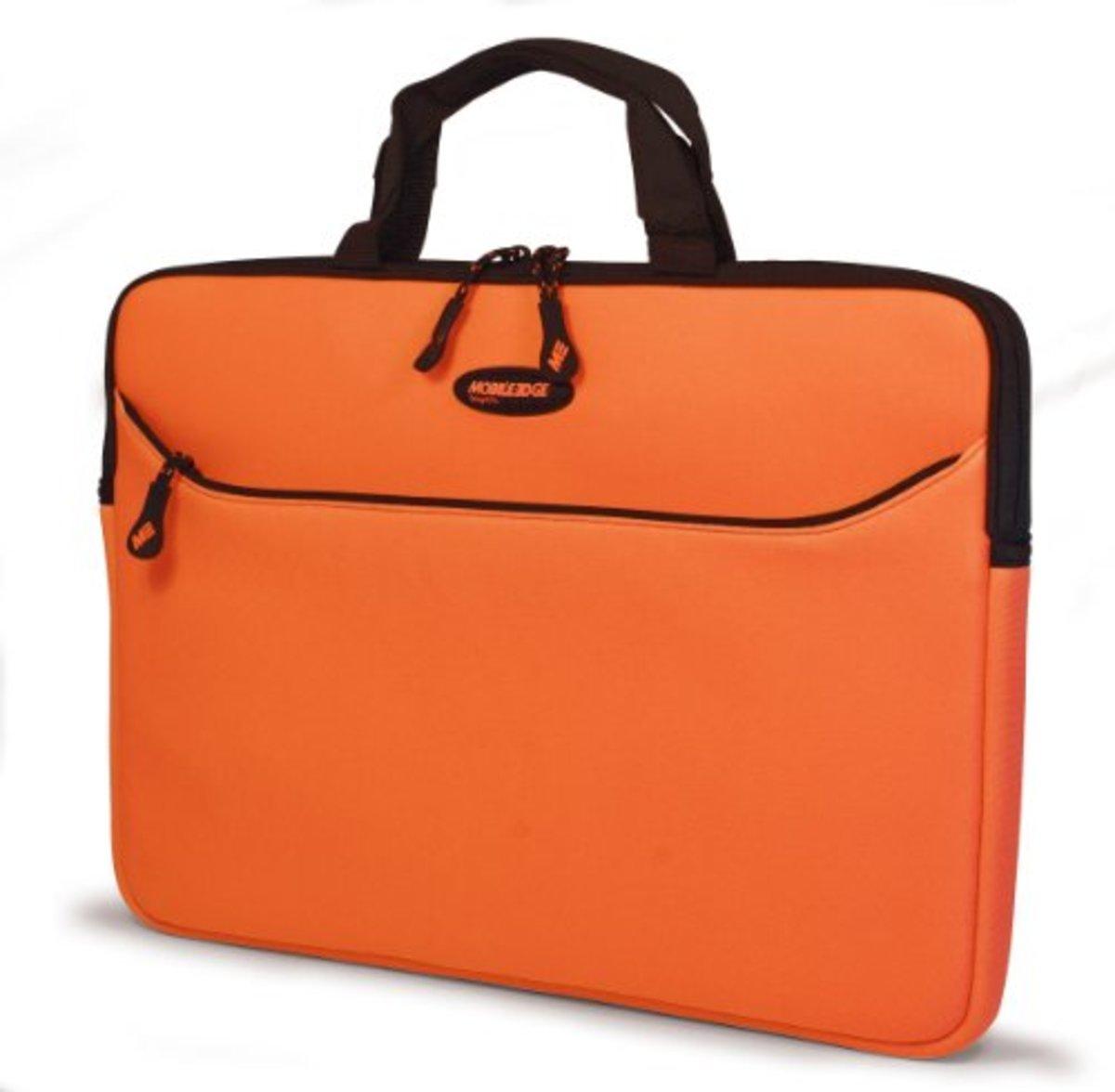 "Mobile Edge Neoprene Laptop Sleeve - 17.3"" PC - Orange"