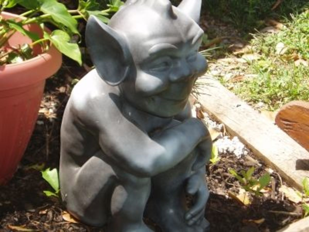 Here's a tricky one MY NEW GARGOYLE-Not for beginners!