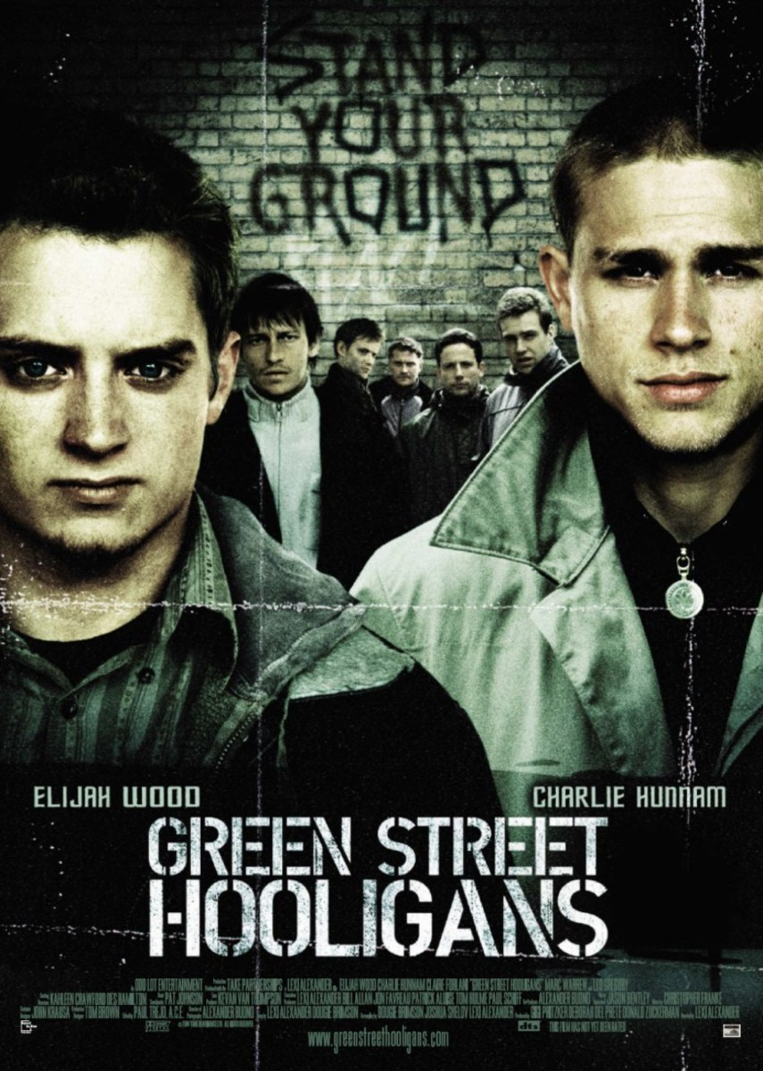 Original poster from the movie Green Street Hooligans