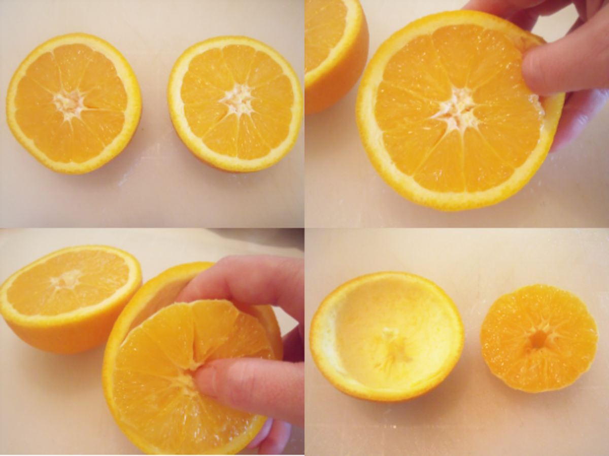How To Make A Natural Citrus Fruit Candle Tutorial And Photos
