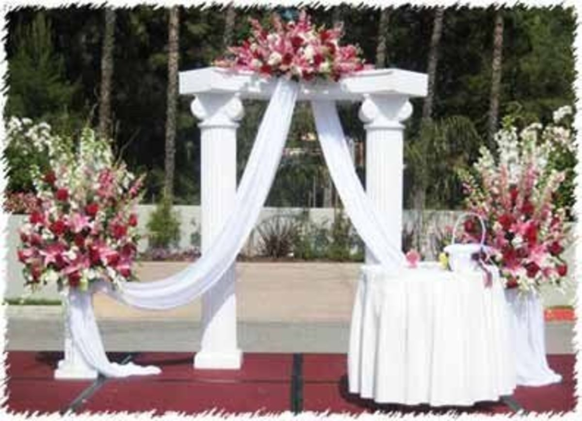 Wedding Flowers Part III-Ceremony Flowers, Reception Flowers And Décor