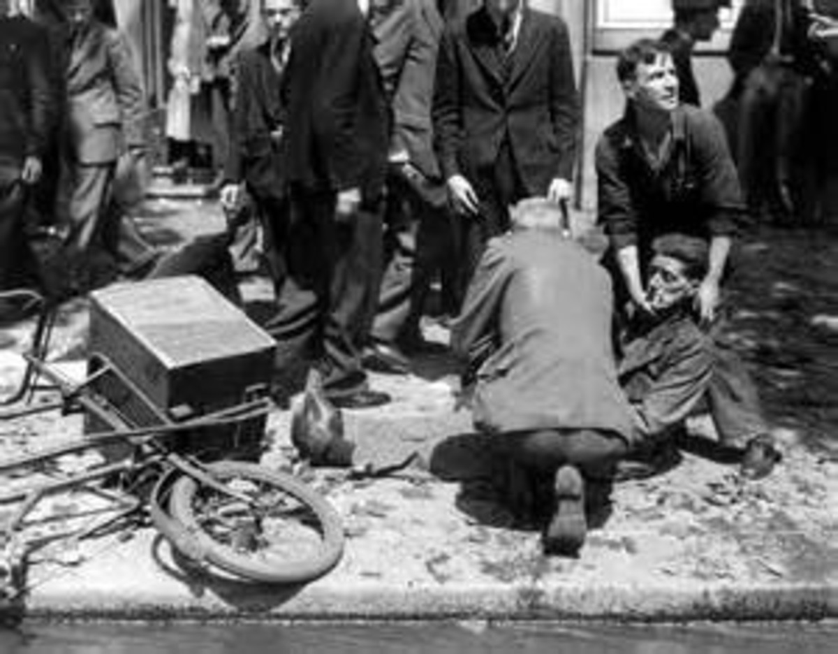 Injured in the bombing