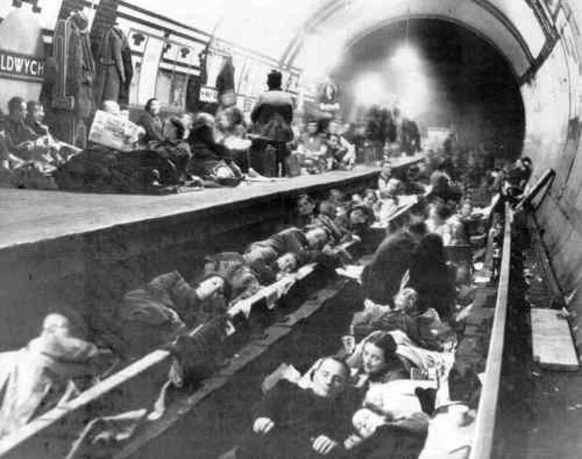 Overnight in the underground station