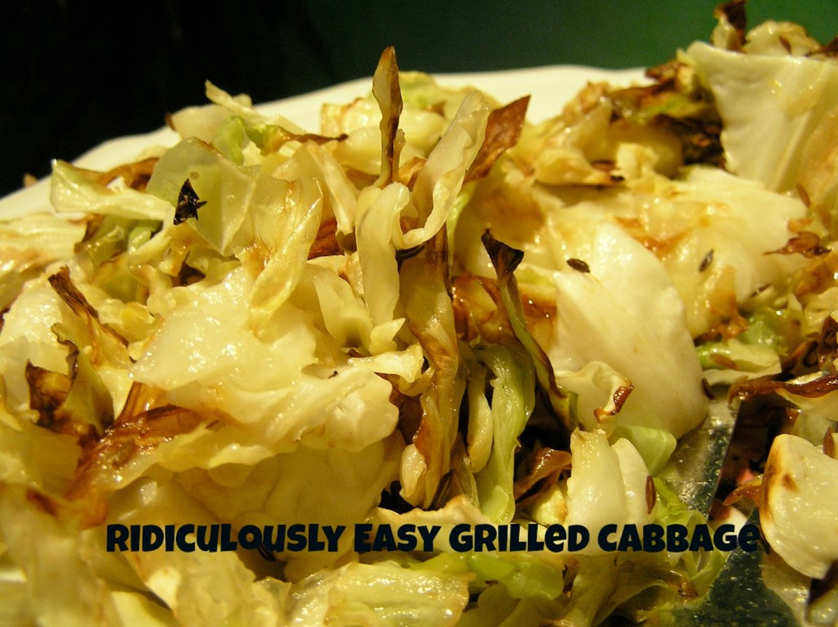 Ridiculously Easy Grilled or Roasted Cabbage