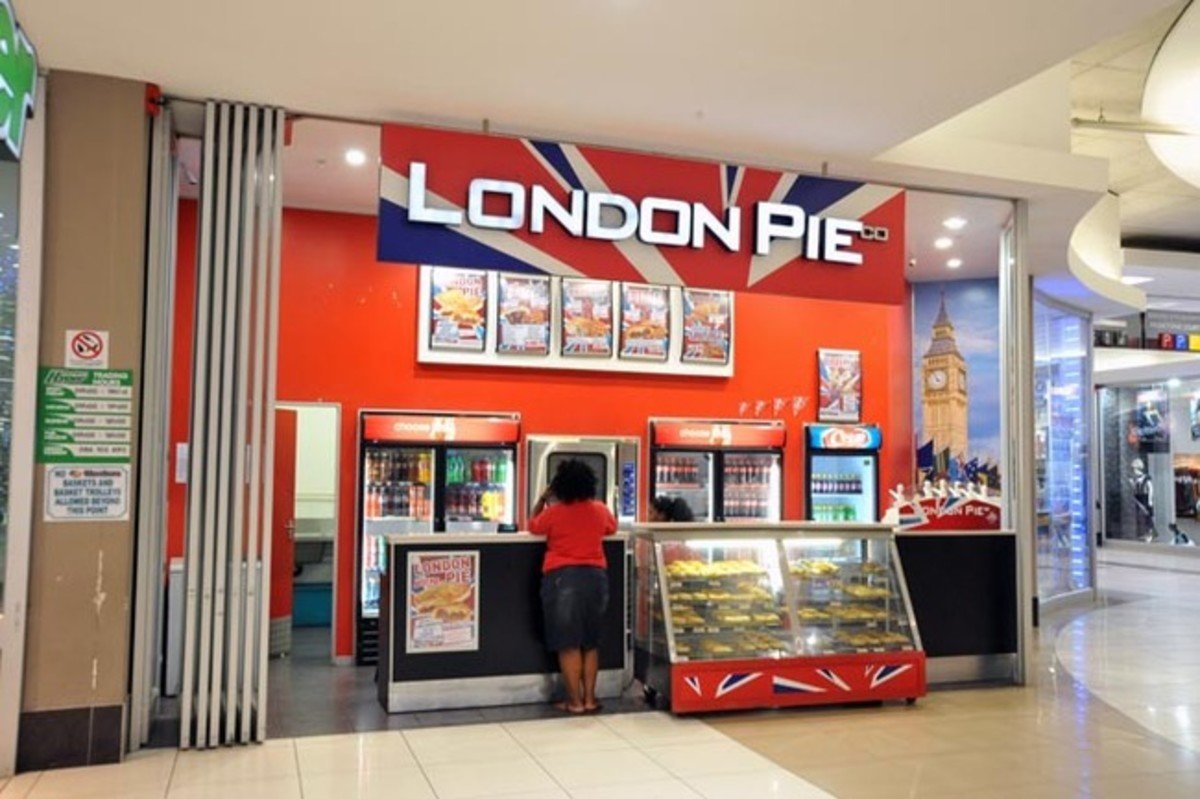 London Pie shop
