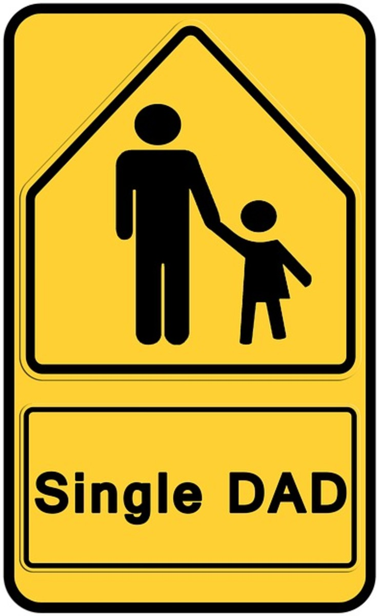 Single Dad Sign